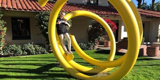 Palm Springs Let's Roam Treasure Hunt:Palm Springs Art & Infamy!