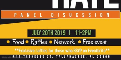 STOP THE HATE PANEL DISCUSSION tickets