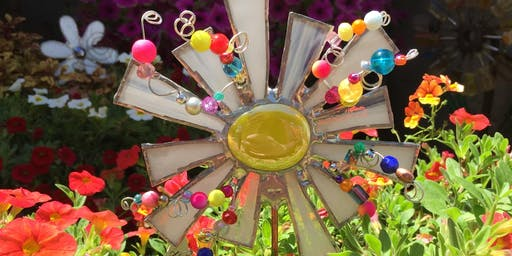Forever Flower Plant Stake   Stained Glass Make and Take Event