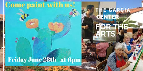 Spirits and Art Painting with Jesse at the Garcia  Center! tickets