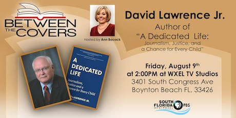 BETWEEN THE COVERS - Live TV Studio Interview - with author David Lawrence Jr. tickets