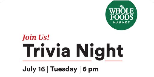 Trivia Night | Whole Foods Market Bellingham