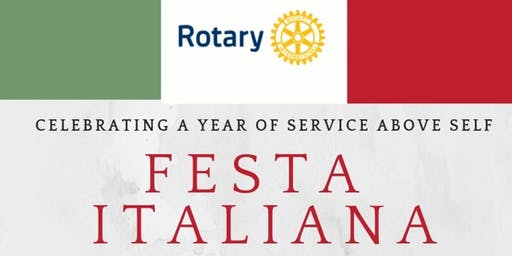 Village West Rotary Club - Festa Italiana!