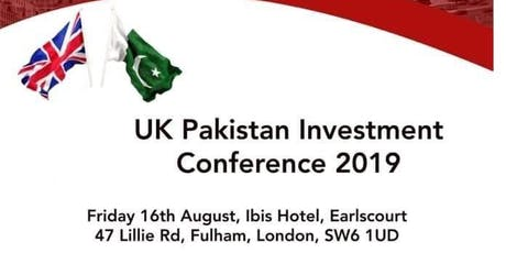 UK Pakistan Investement Confrenece 2019 tickets