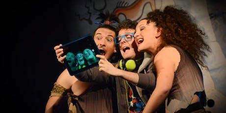 GIROVAGARTE - FILO DI RAME - Preistoric selfie biglietti