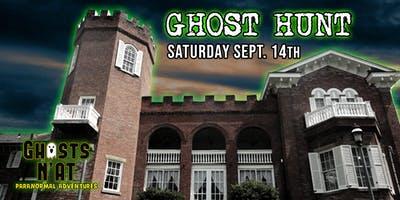Ghost Hunt at Nemacolin Castle, Brownsville PA | Saturday September 14th