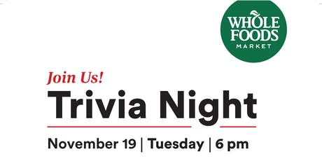 Trivia Night | Whole Foods Market Bellingham tickets