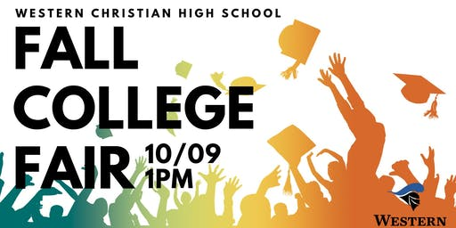 2019 Western Christian High School Fall College Fair
