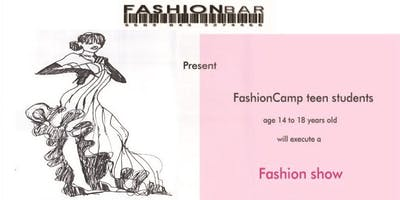 FASHION GIVES BACK!  Fashion Show at NorthBrook Court Shopping Mall presented by FashionCamp Students!