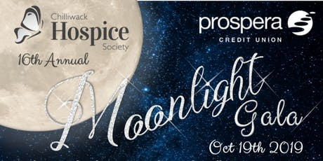 Chilliwack Hospice Society's 16th Annual Gala - Moonlight Gala tickets