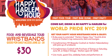 Happy Harlem Hour - World Pride Edition  tickets