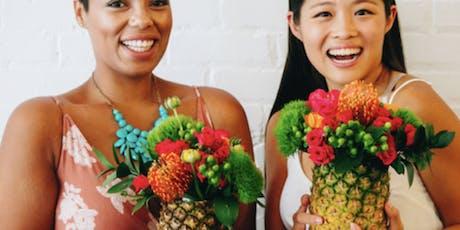 DIY Pineapple Vase with Pretty Petals tickets