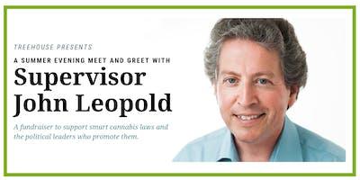 A Summer Evening Meet and Greet with Supervisor John Leopold