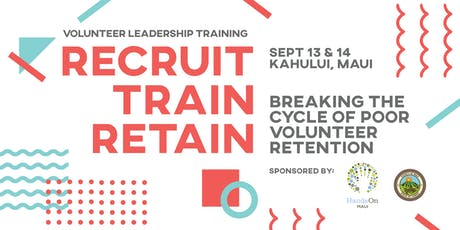 Recruit, Train, Retain: Breaking the Cycle of Poor Volunteer Retention tickets