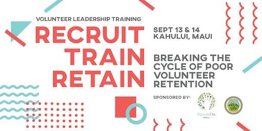 Recruit, Train, Retain: Breaking the Cycle of Poor Volunteer Retention