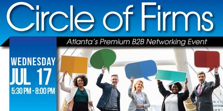 B2B Networking: Circle of Firms | July 2019 tickets