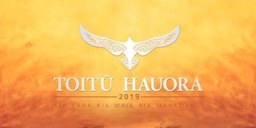 Toitū Hauora Māori Leadership Summit 2019