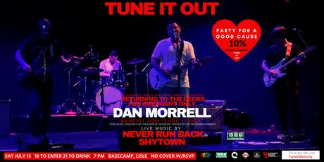 """Tune It Out"" Ft Dan Morrell, Never Run Back & Shytown @ Basecamp 7/13/19 tickets"