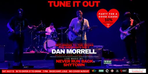 """""""Tune It Out"""" Ft Dan Morrell, Never Run Back & Shytown @ Basecamp 7/13/19"""