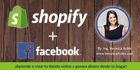 Shopify + Facebook: Crea tu Tienda Online y Mercadéate en Redes Sociales entradas