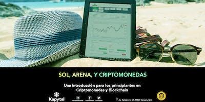 Sol, arena y Criptomonedas: Introducción para los principiantes en Criptos