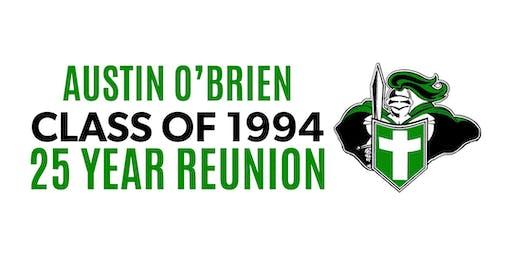 Austin O'Brien Class of 1994 - 25 Year Reunion