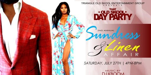 That Old Skool Day Party The Sundress and Linen Affair
