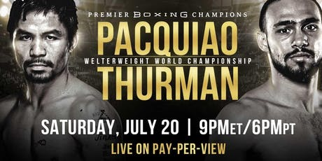 Pacquiao vs Thurman :: Ring the Belle tickets