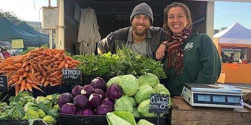 Santa Cruz Farmers Market & Blue House Farm Tour