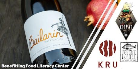 Bailarín & Bites benefitting Food Literacy Center tickets