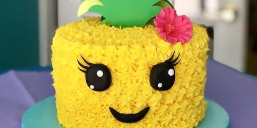 Prickly Pineapple Kids Cake