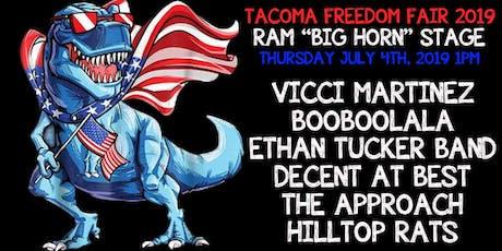 Tacoma Freedom Fair - Ram Stage tickets