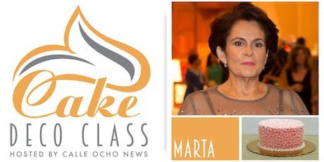 Cake Deco Class sponsored by Calle Ocho News tickets