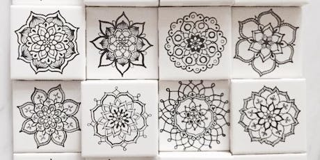 Mandala Art & Lettering on Tiles tickets
