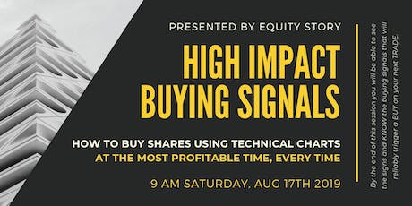 High Impact Buying Signals: KNOWING The Most PROFITABLE Time To Buy! tickets