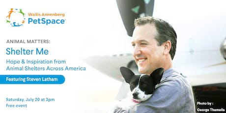 Shelter Me: Hope & Inspiration from Animal Shelters Across America tickets