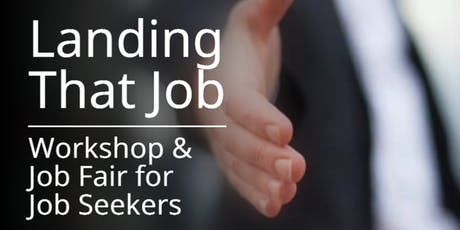 Job Seekers Workshop & Career Fair tickets