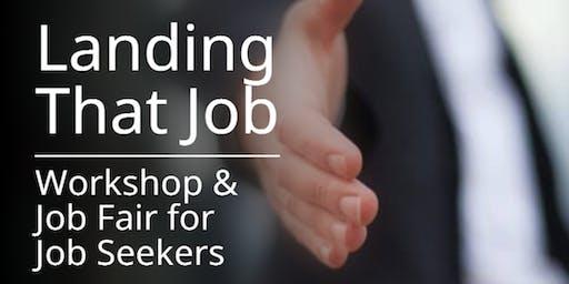 Job Seekers Workshop & Career Fair