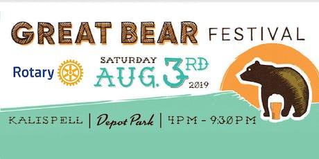Great Bear Festival 2019 tickets