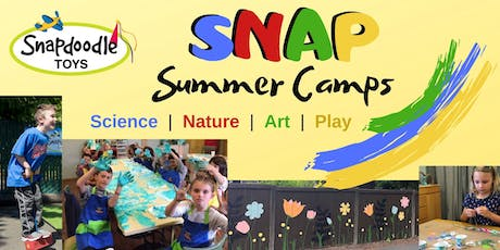 Snapdoodle SNAP Camp Week #2 (July 15-19): Science Sensations tickets