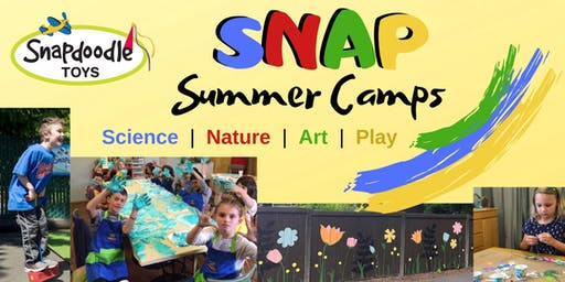 Snapdoodle SNAP Camp Week #2 (July 15-19): Science Sensations