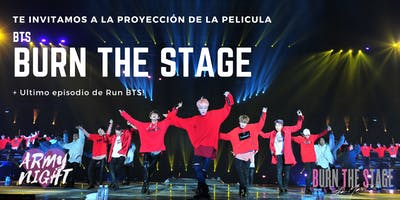 BTS MOVIE BURN THE STAGE