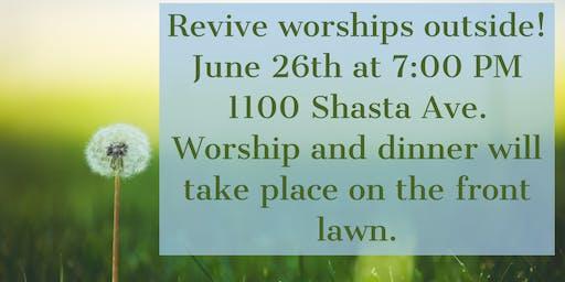 Revive Worships Outside!