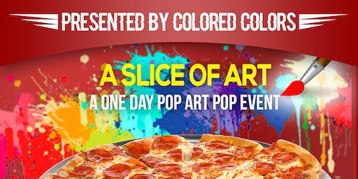 Slice of Art:  A One Day Art Pop-Up Event
