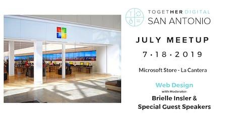 Together Digital San Antonio July Meetup: Web Design - OPEN MEETUP tickets