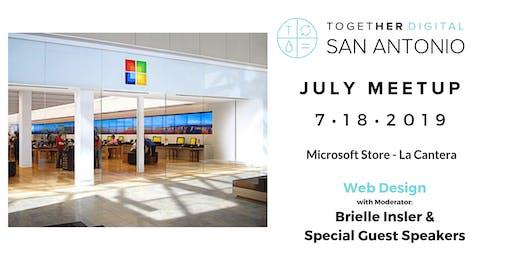 Together Digital San Antonio July Meetup: Web Design - OPEN MEETUP