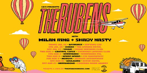 The Rubens 'Chucka Buckas' Tour