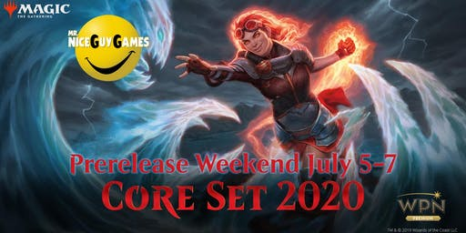 Mr. Nice Guy Games MTG Core Set 2020 Prerelease