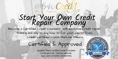 Certified and Approved - Board Certified Credit Consultant- Seacaucus NJ
