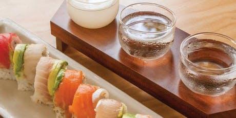 Sushi & Saki Tasting  tickets